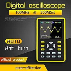 ACCUMESURE® Pro 2.0 Digital Oscilloscope Kit 100MHz Bandwidth & 500MS/s Sampling Rate