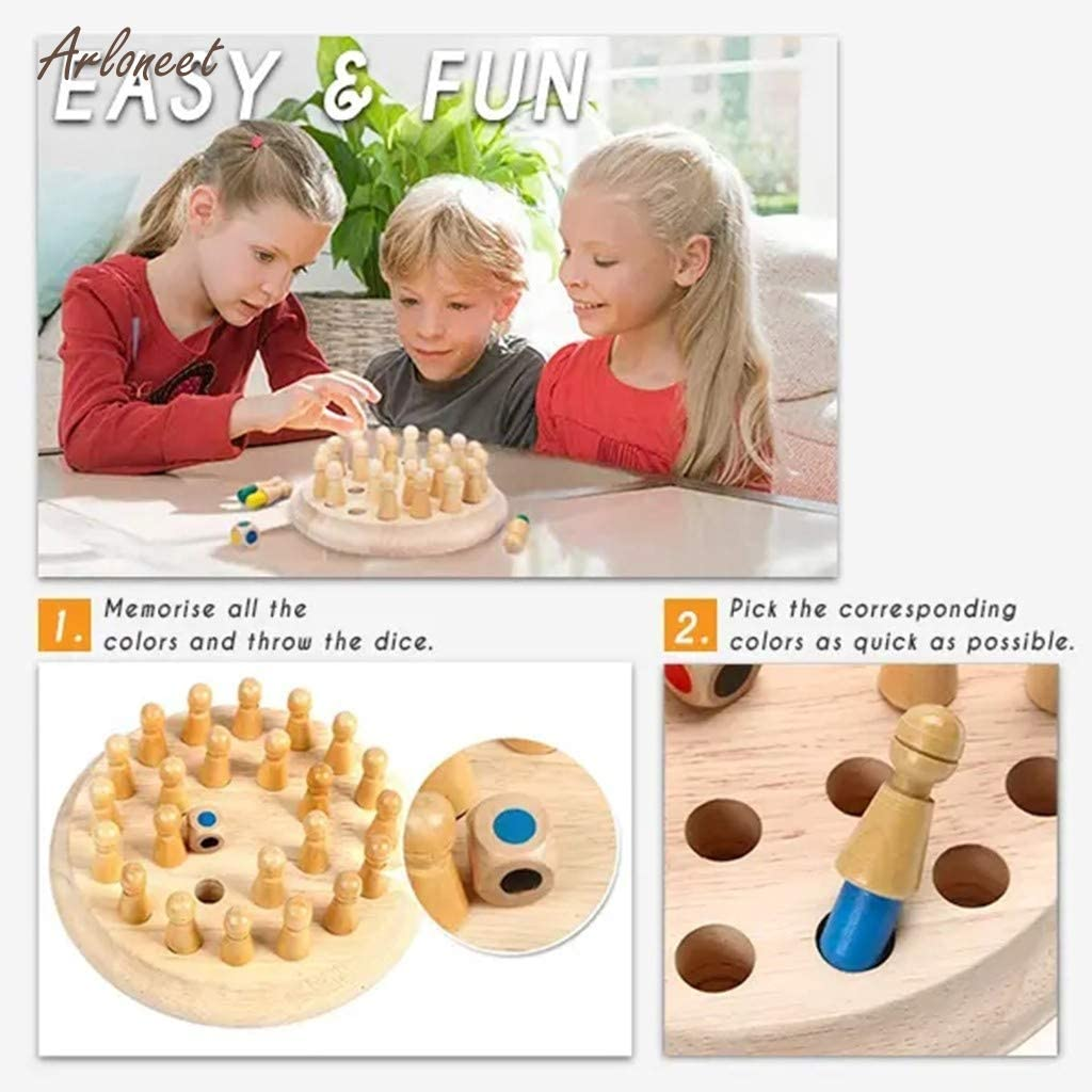 Family Board Game For Kids And Adults Memory Match Stick Game® Best Family Board Game For Kids And Adults