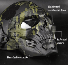 Skulls® Full Face Tactical Skull Scary Mask