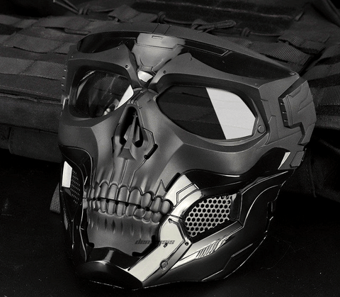 Full Face Tactical Skull Scary Mask