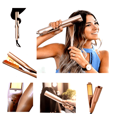Hair Curling Straightening Iron best hair curling Straightening ceramic iron hair straightener curler