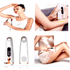 Image of handheld personal laser hair removal device kit for face upperlip bikini arms armpit legs chin back best at home ipl permanant laser removal machine device men women sale