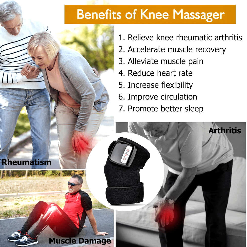 Knee Massager Best Knee Pain Massager Arthritis Remedies Treatments Home Machine