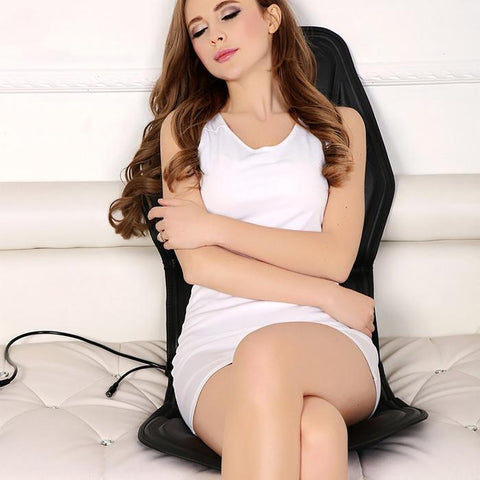Portable Back Massager With Heat best electric portable seat back massager pad heat for chairs