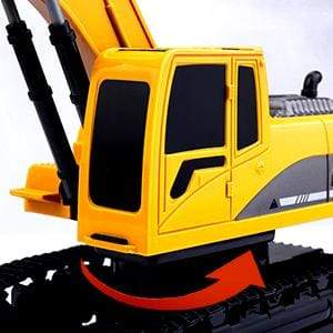 remote control rc excavator toy remote control rc metal hydraulic excavator toy truck that can dig