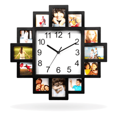 Unique Decorative Wall Clock Battery Operated For Home Kitchen Sale