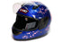 CHILDREN FULL FACE HELMET BLUE