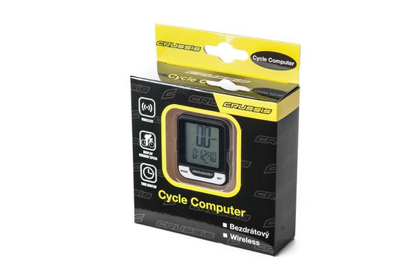 Crussis Wireless Cycle Computer with 11 functions