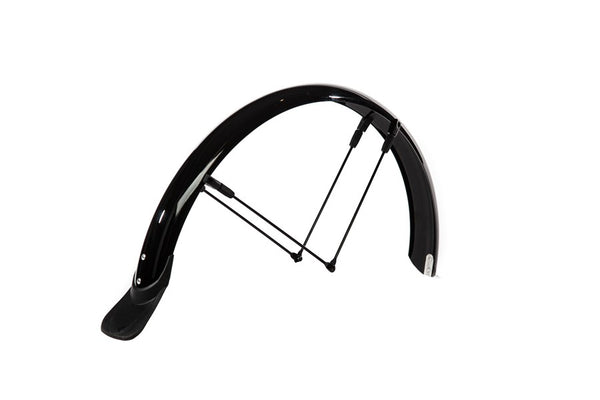 "Crussis Rear Mudguard 16"" Black"