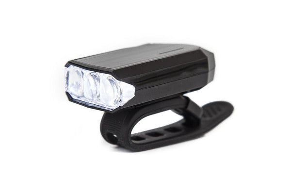 Crussis LED front USB chargeable red light