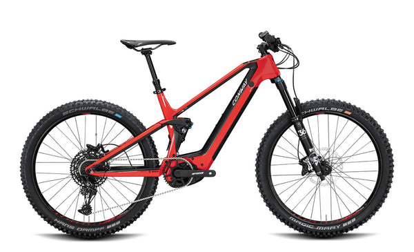 Mountain Full Suspension E-Bike Conway XYRON 727 Carbon