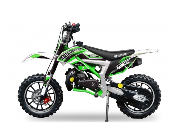 Mini dirt bike Cheetah 49 cc | Easy pull start | 10