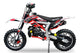 "Mini dirt bike Gepard 49 cc | Easy pull start | 10"" Wheels 
