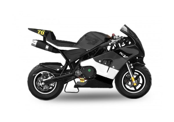 Pocket Bike PS50 Rocket 49cc | Easy pull start | 6.5