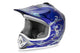 XTREME CHILDREN MOTOCROSS HELMET BLUE