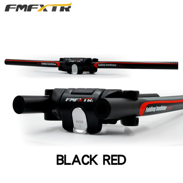 FMFXTR Quick Foldable Bicycle Cycling Handlebars Alloy Bike Parts MTB Road Folding Bike Handlebars 25.4mm 31.8mm