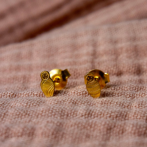 Boucles d'oreille Matriochkas #31