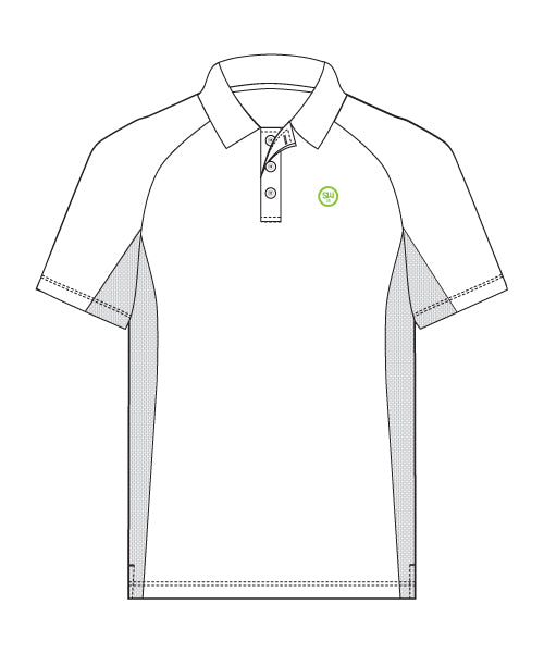 SW23 Golf Performance Polo - White