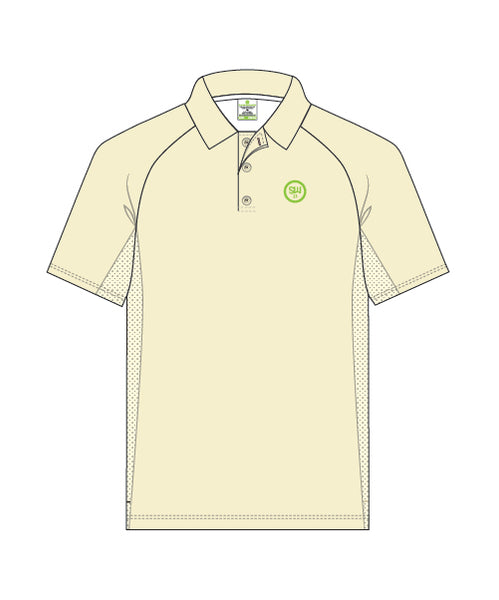 SW23 Men's Short Sleeve Elite Polo (Creams)
