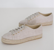 Load image into Gallery viewer, LINEN SNEAKER