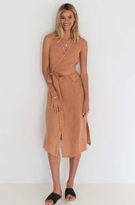 THE WRAP DRESS - SPICE