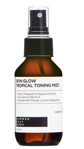 Skin glow tropical toning mist