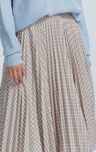 Load image into Gallery viewer, JOSEPHINE PLEATED MIDI SKIRT