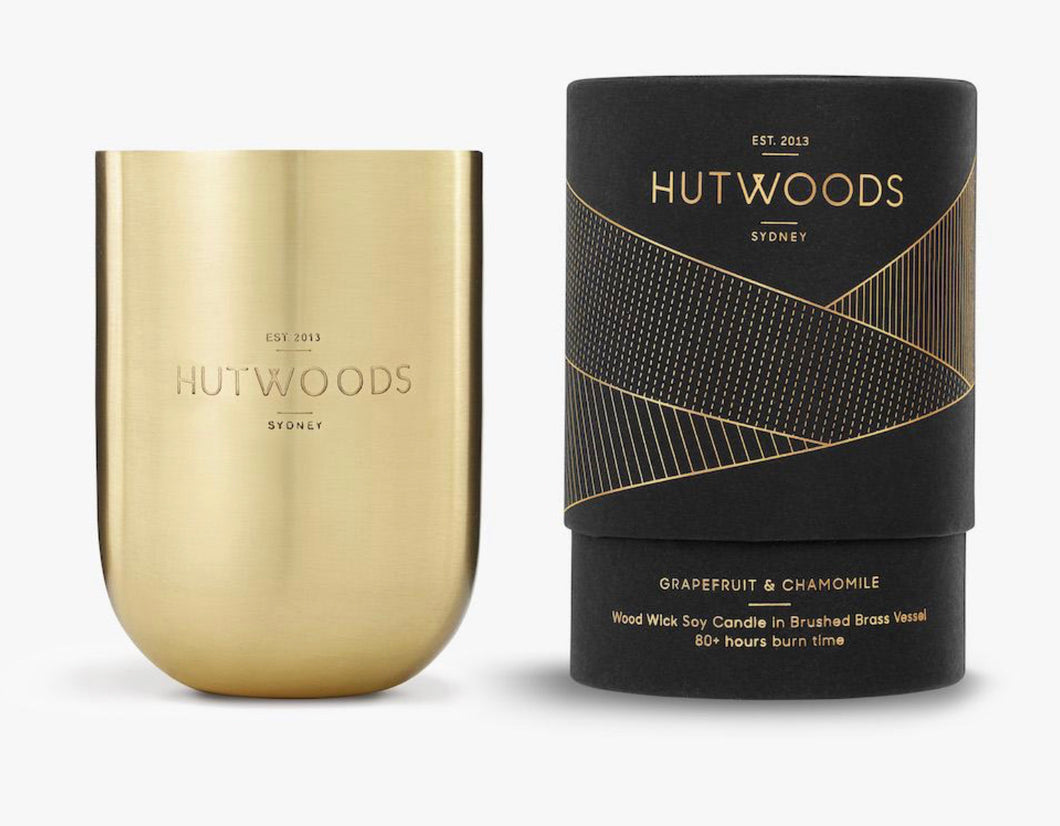 HUTWOODS - GRAPEFRUIT & CAMOMILE