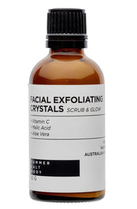 FACIAL EXFOLIATING CRYSTALS