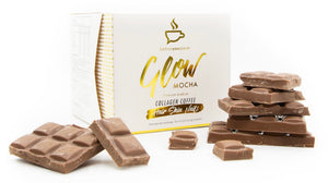GLOW COLLAGEN COFFEE BOX - MOCHA