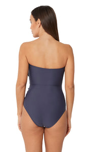 SPLICED BANDEAU MAILLOT