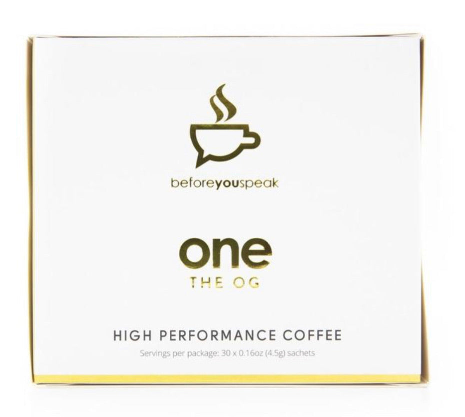 ONE THE OG HIGH PERFORMANCE COFFEE