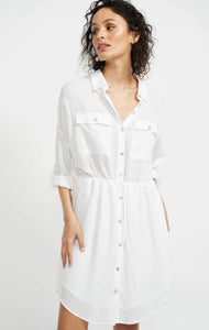HAZE MINI SHIRT DRESS