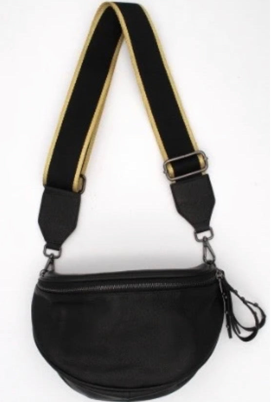 LEATHER CROSS BODY