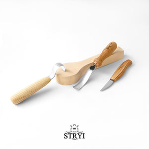 Spoon carving tools set 3pcs,  STRYI