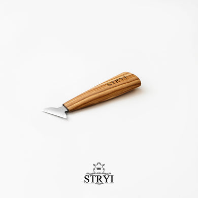 Knife for woodcarving 40mm STRYI