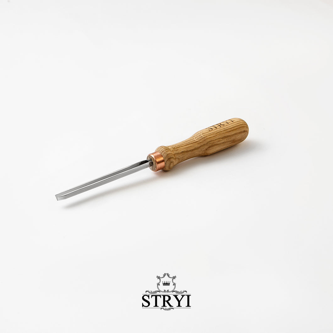 V-shape chisel 35 degree, wood carving tools STRYI