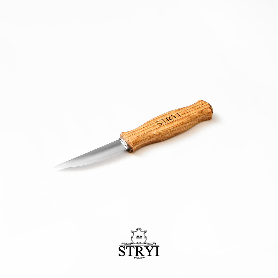 Whittling knife for wood carving 80mm STRYI