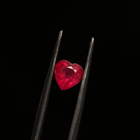1.56ct Heart-Shaped Ruby