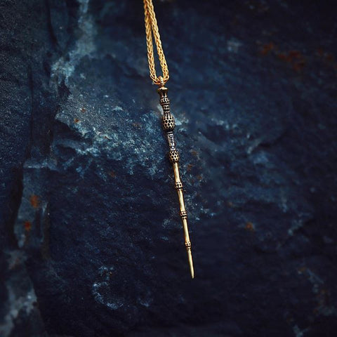Deathly Hallows Dumbledore's Elder Wand Harry Potter Fine Jewelry