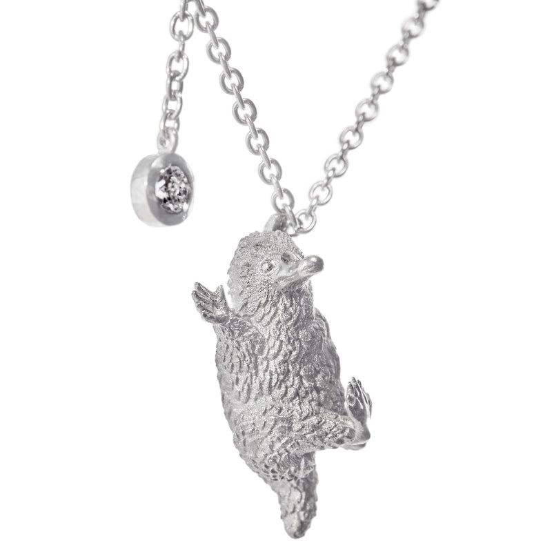 Niffler Chasing a Diamond Necklace