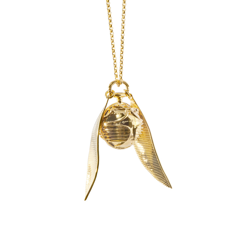 Baby Golden Snitch Necklace