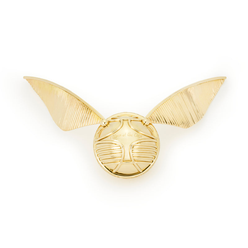 The Golden Snitch Ring Box