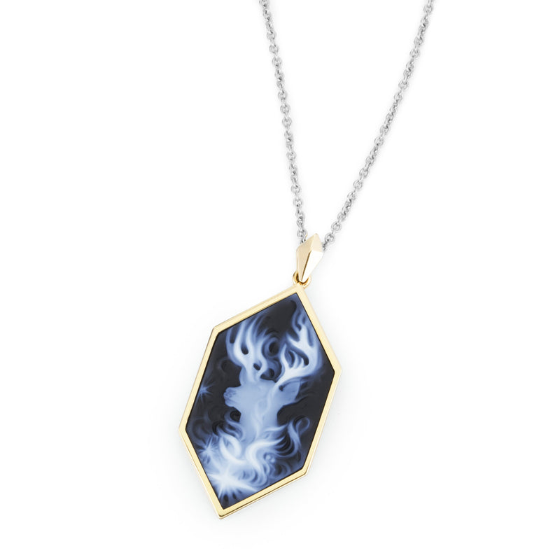 Harry's Patronus Cameo Necklace