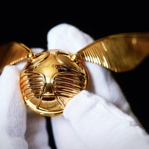 The Golden Snitch Ring Box (Display Version)