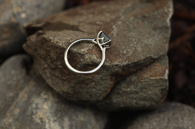 Four-Prong Isela Solitaire Ring Setting