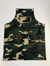 Load image into Gallery viewer, Barber Apron (Green Camo)