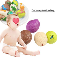 1Pcs Dinosaur Pinch Egg Squeeze Vent Decompression Ball