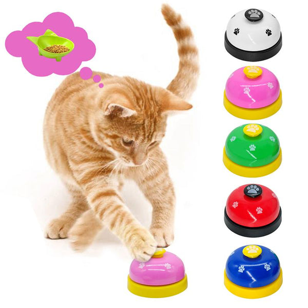 Pet Feeding Ringer Educational Training Call Bell