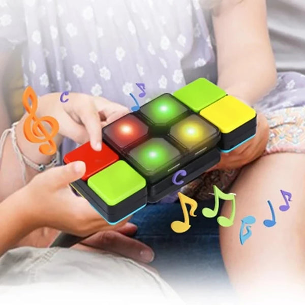 15 Levels Music Magic Cube Electronic Skew Changeable Toy